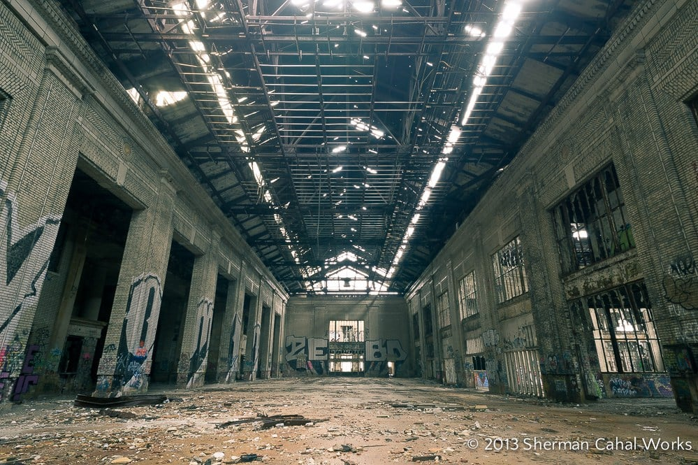 Detroit Michigan Central Station - Abandoned Places