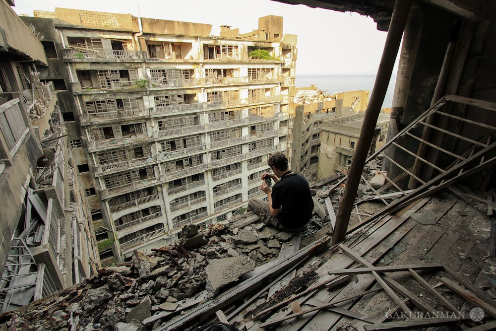 Japan Hashima Island - Abandoned Places