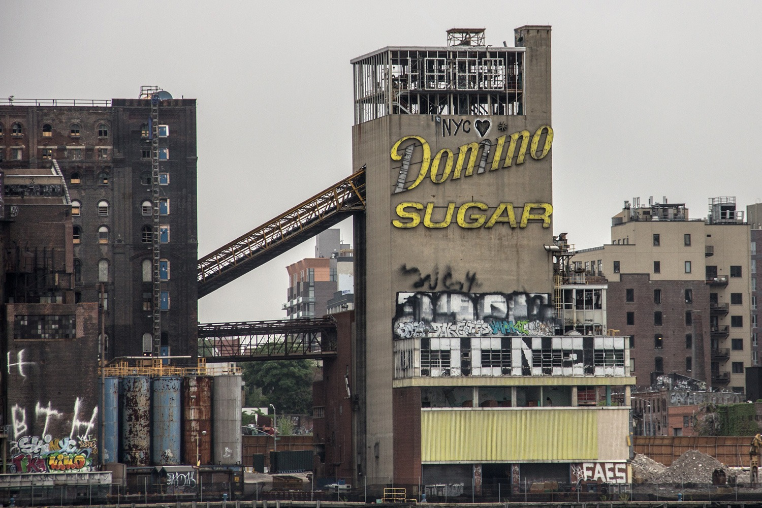 Brooklyn Domino Sugar Factory - Abandoned Places