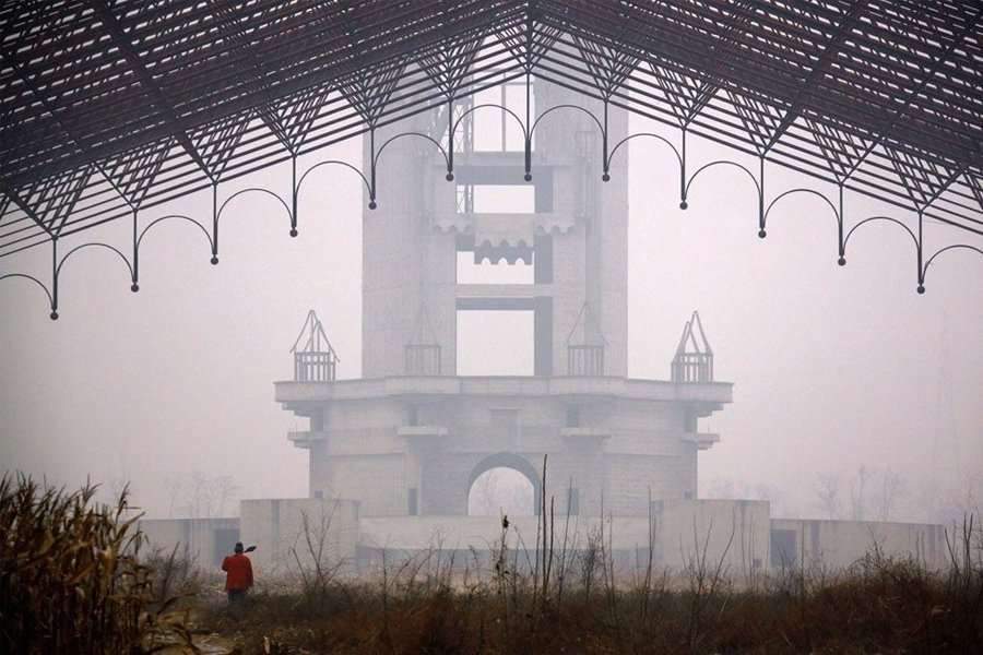 beijing wonderland amusement park - abandoned cities