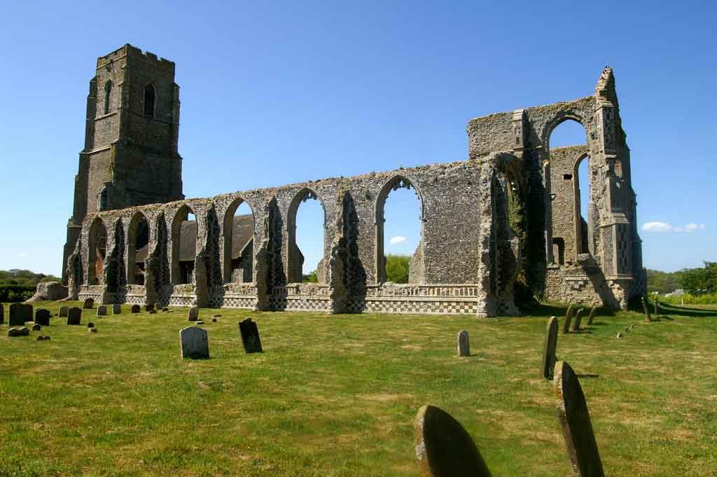 England Suffolk - Abandoned Churches