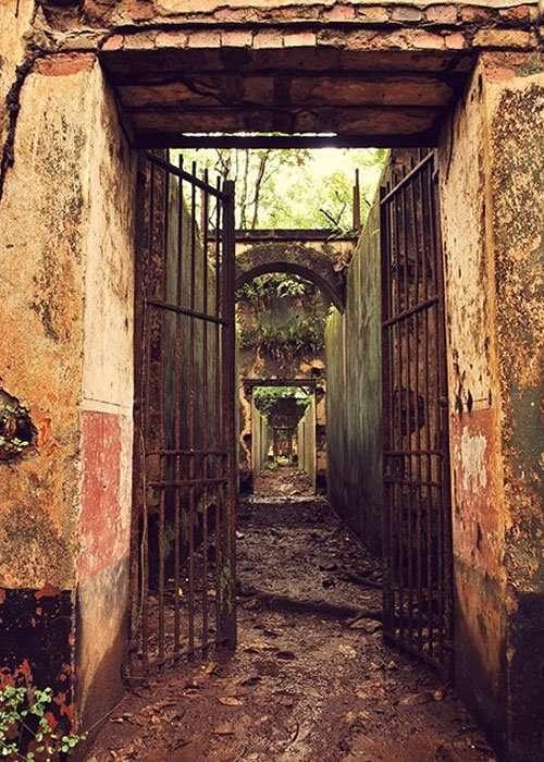 Isle of Procida Jail - Abandoned Prisons