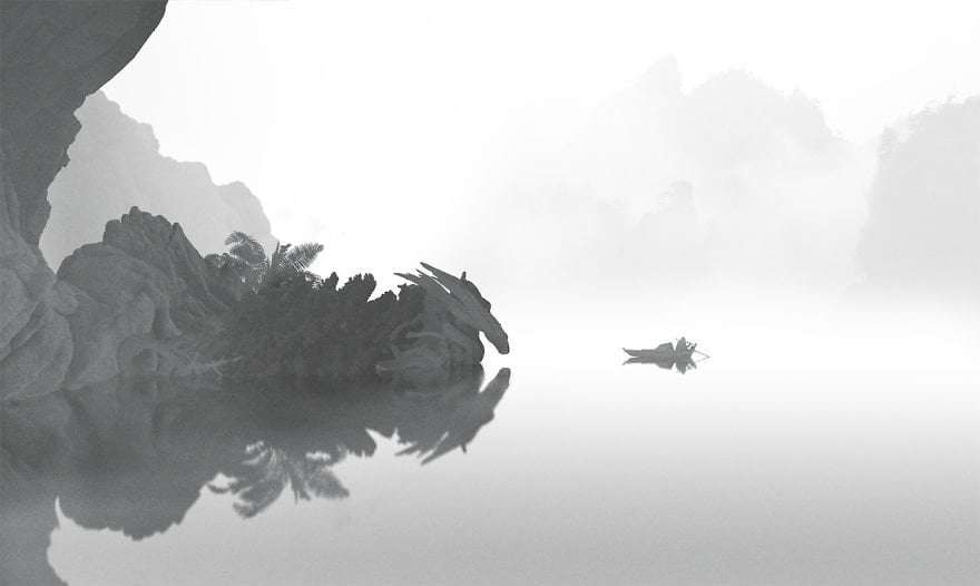 Giant Dragon - Paintings