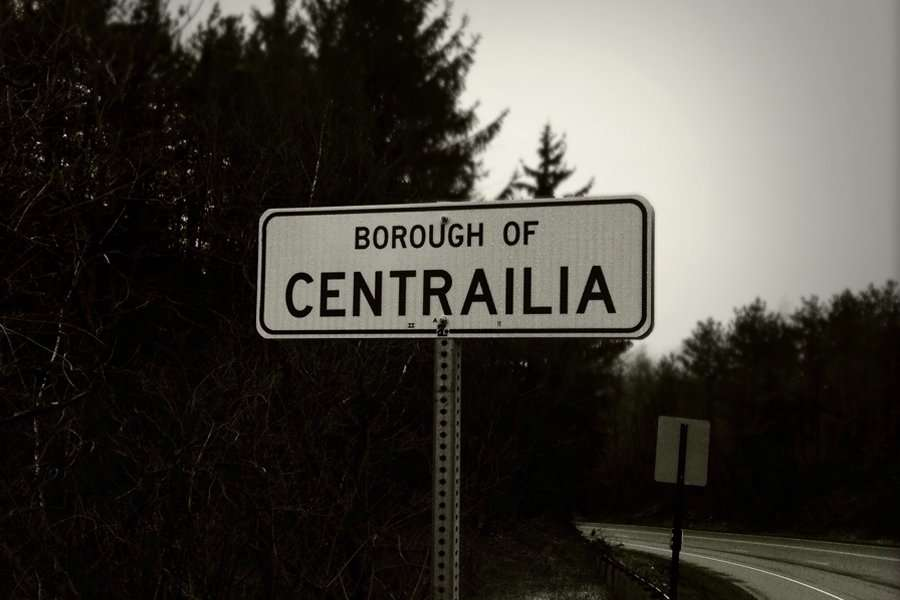 centralia mining town - abandoned cities