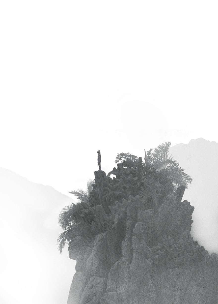 Open Landscape - Dark Paintings