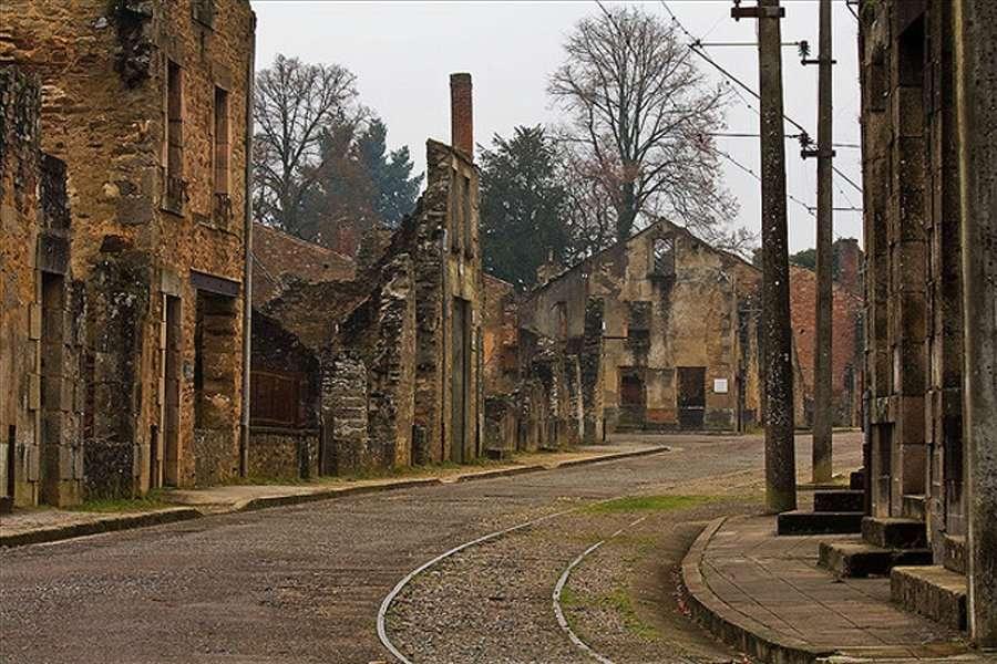 haute vienne oradour sur glane - abandoned cities