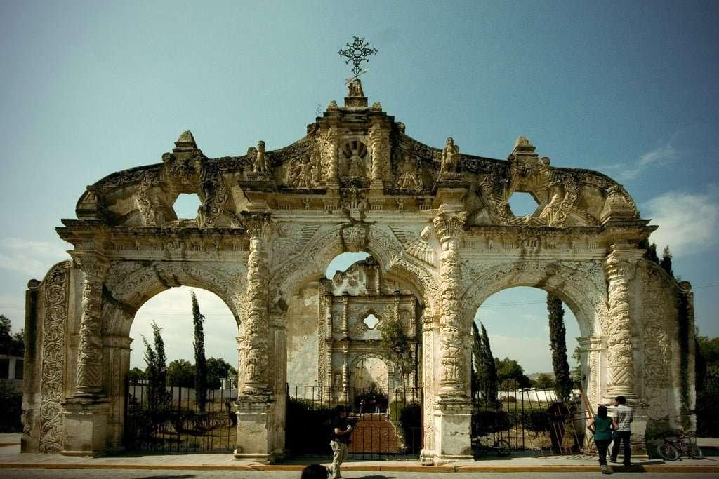 Quecholac, Mexico - Abandoned Churches