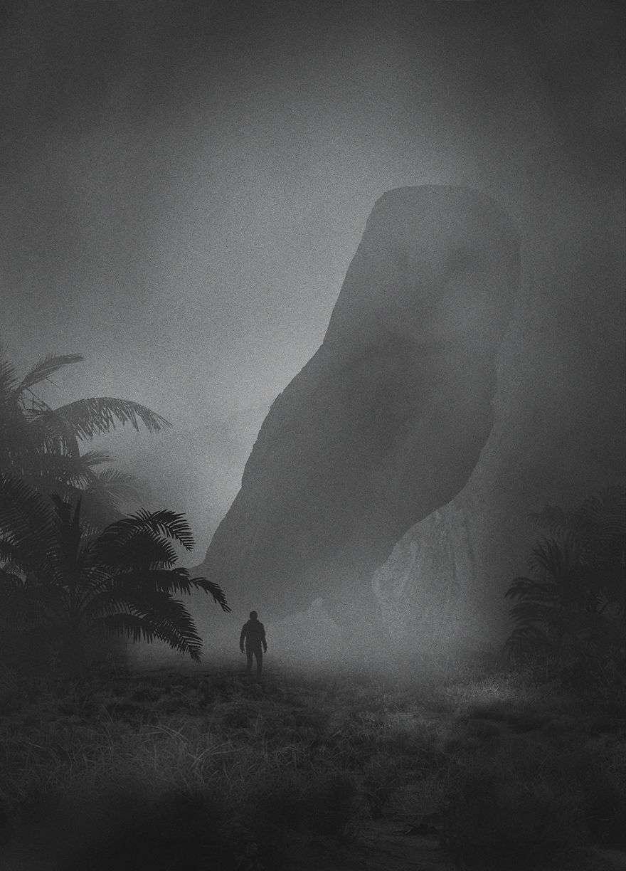 Giant Owl - Dark Paintings