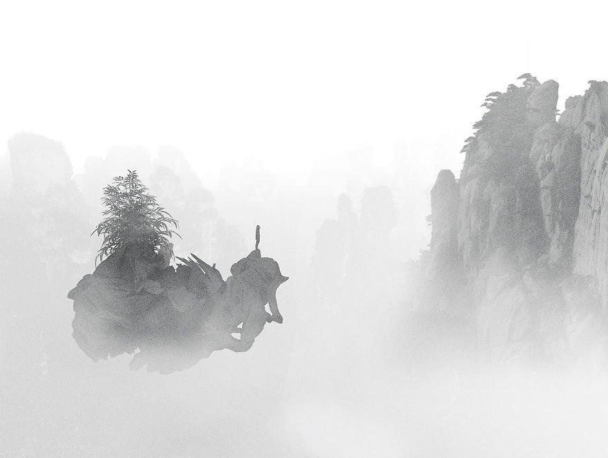 Giant fog - Paintings