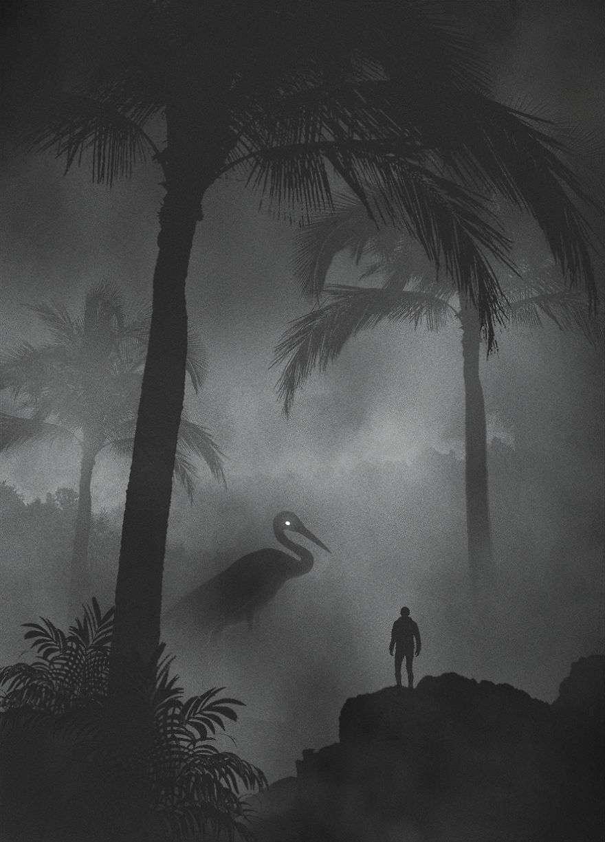 Crane - Dark Paintings