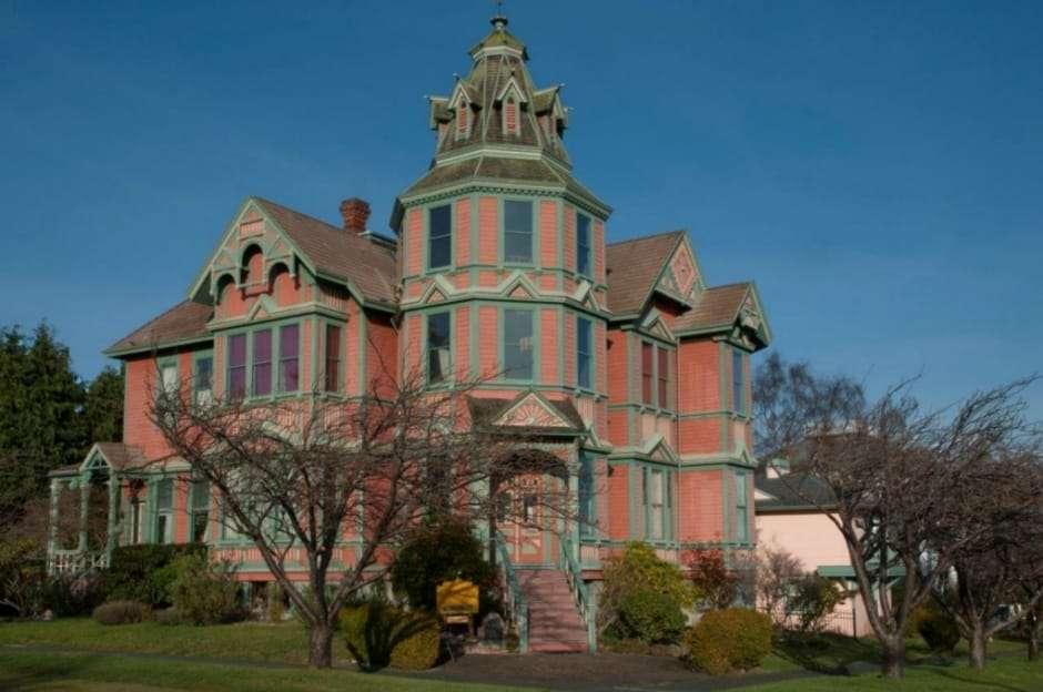 Washington Ann Starrett Mansion - Haunted Mansions