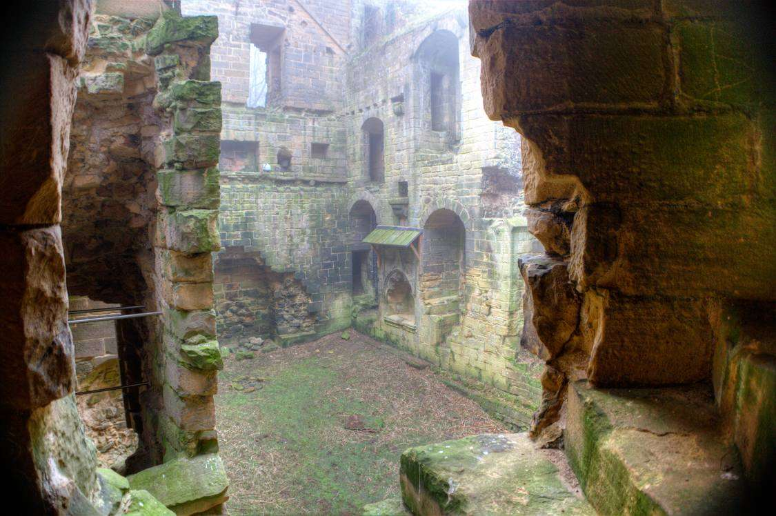 Britain Harewood Castle - Abandoned Places