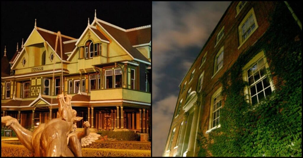 10+ Haunted Mansions in The United States