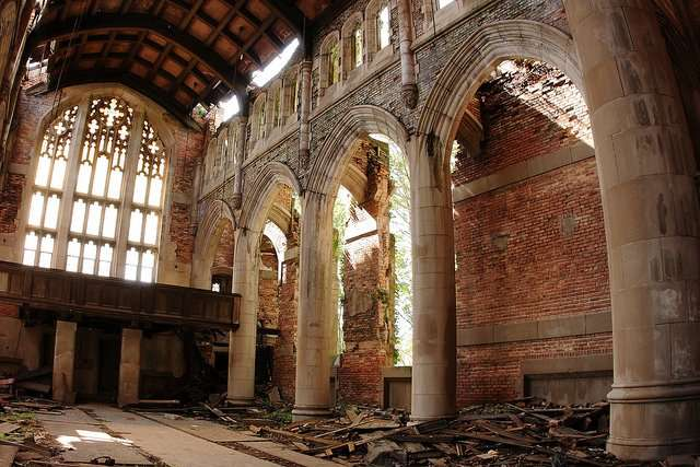 Methodist Church - Abandoned Places