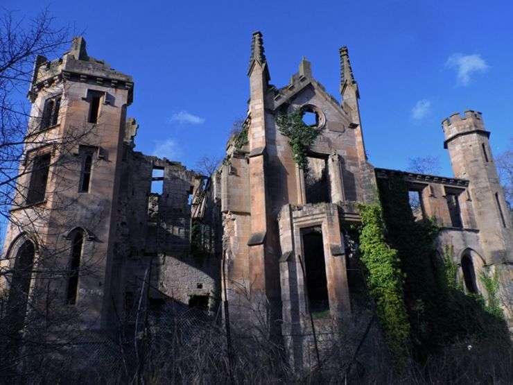 Scotland Cambusnethan House - Abandoned Places