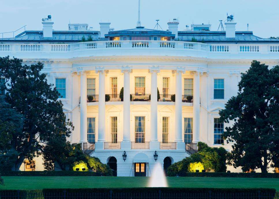 Washington The White House - Haunted Mansions