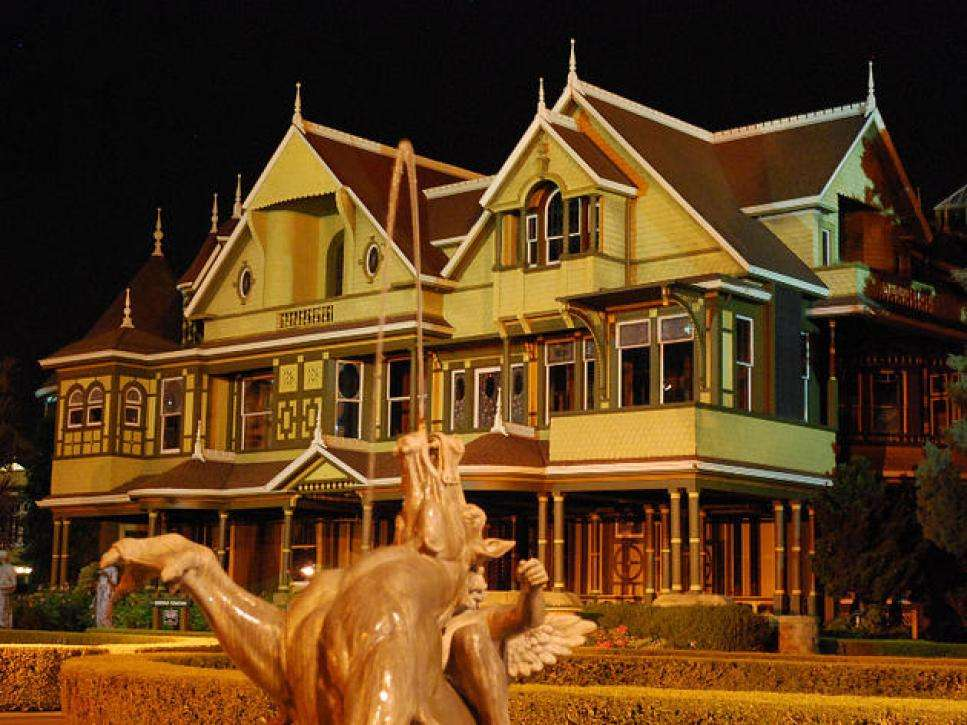 California Winchester Mystery House - Haunted Mansions