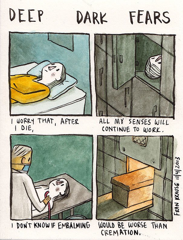 Fear of the afterlife