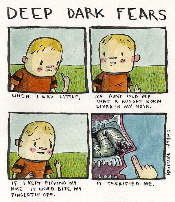Fear of bad habits