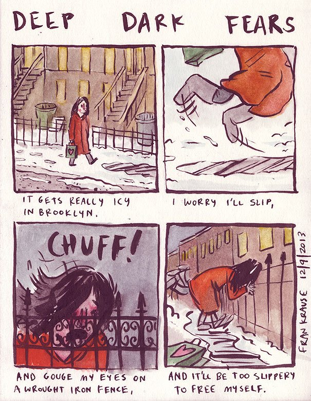 Fear of the cold
