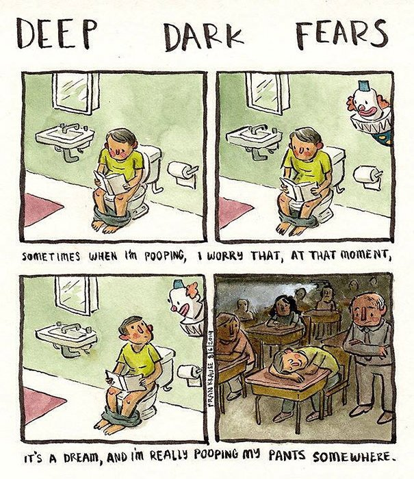 Fear of warped reality