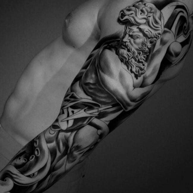 gentleman hyperrealistic tattoos