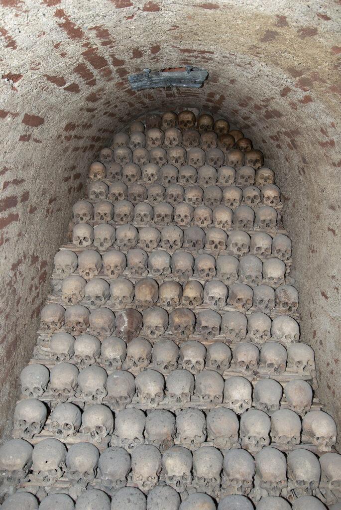 BRNO OSSAURY Eerie Catacombs