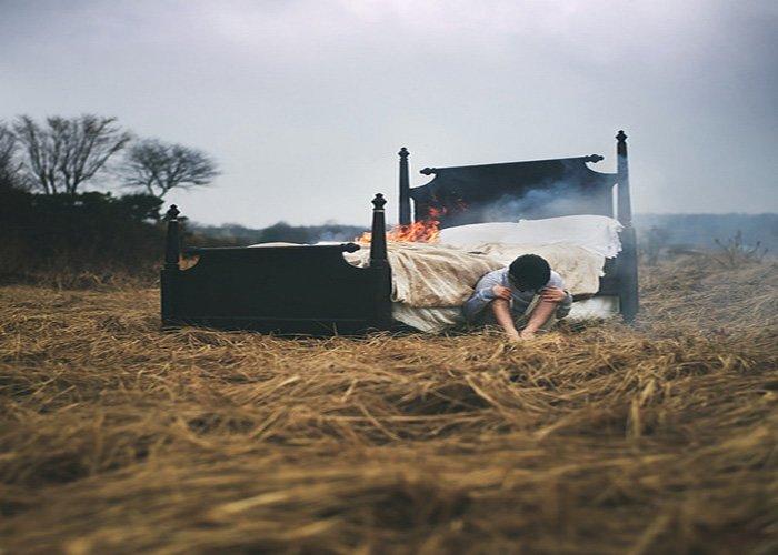 Fiery resting place