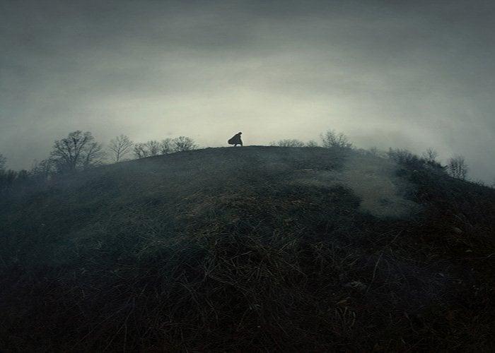 Eerie landscape