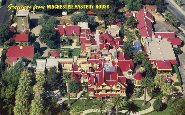 Winchester Mystery House Tourist Attractions
