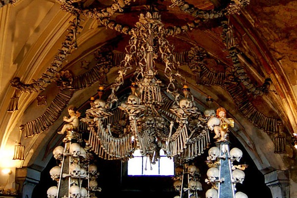 Sedlec Ossuary Creepy Tourist Attractions