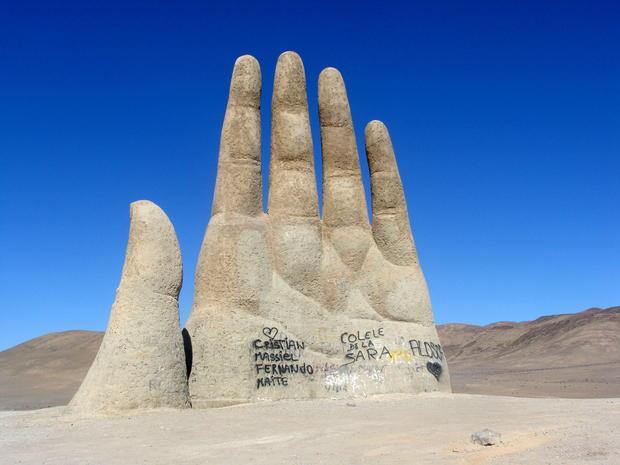 Mano Del Desierto Tourist Attractions