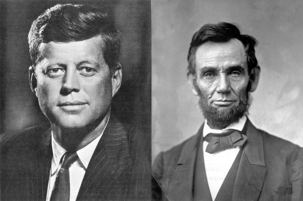 JFK and Lincoln