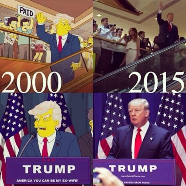 The Simpsons Predict The Future