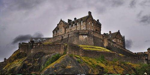 Edinburgh Castle Haunted Places