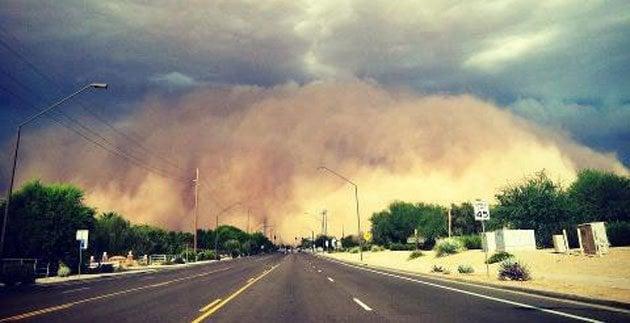 Haboob Sandstorm Creepy Natural Wonders