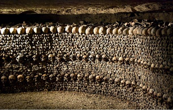 CATACOMBS OF PARIS Eerie Crypts
