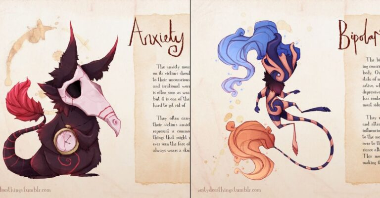 10+ Haunting Illustrations Of Mental Illnesses And Disorders