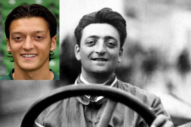 Ferrari Company Founder or Football Player