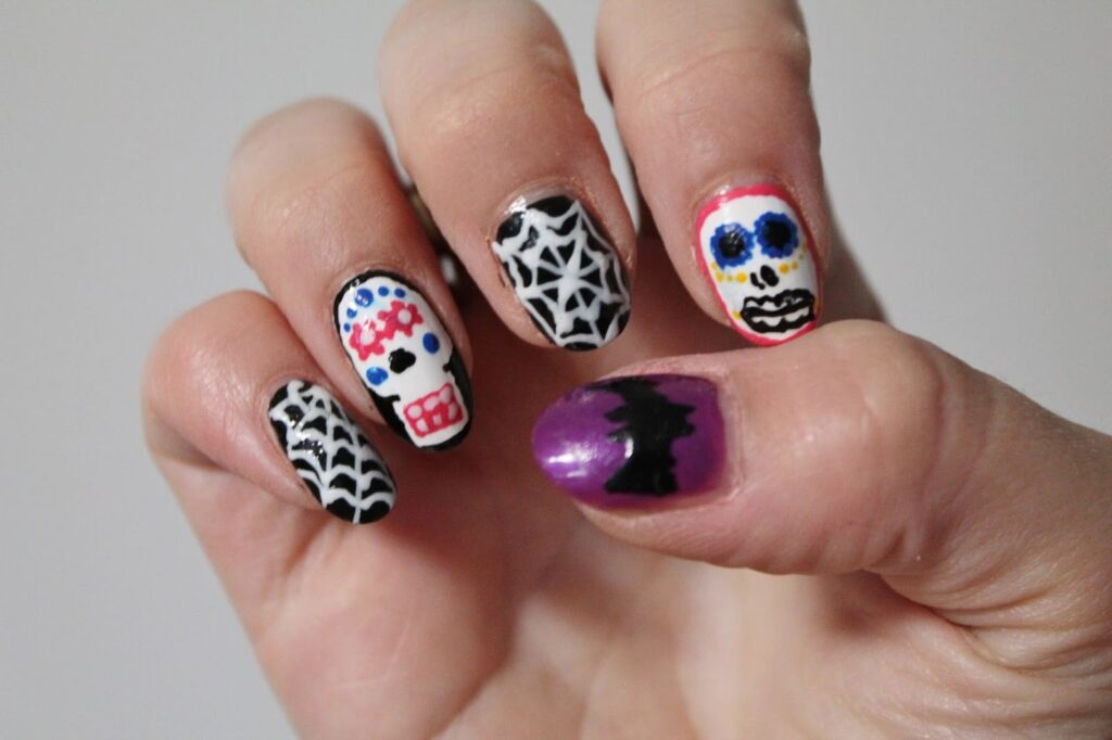 best halloween nail art ideas