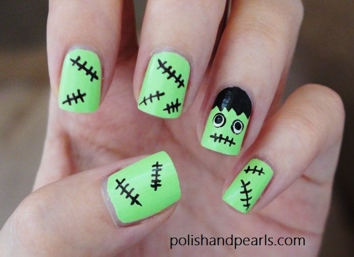 halloween nails art