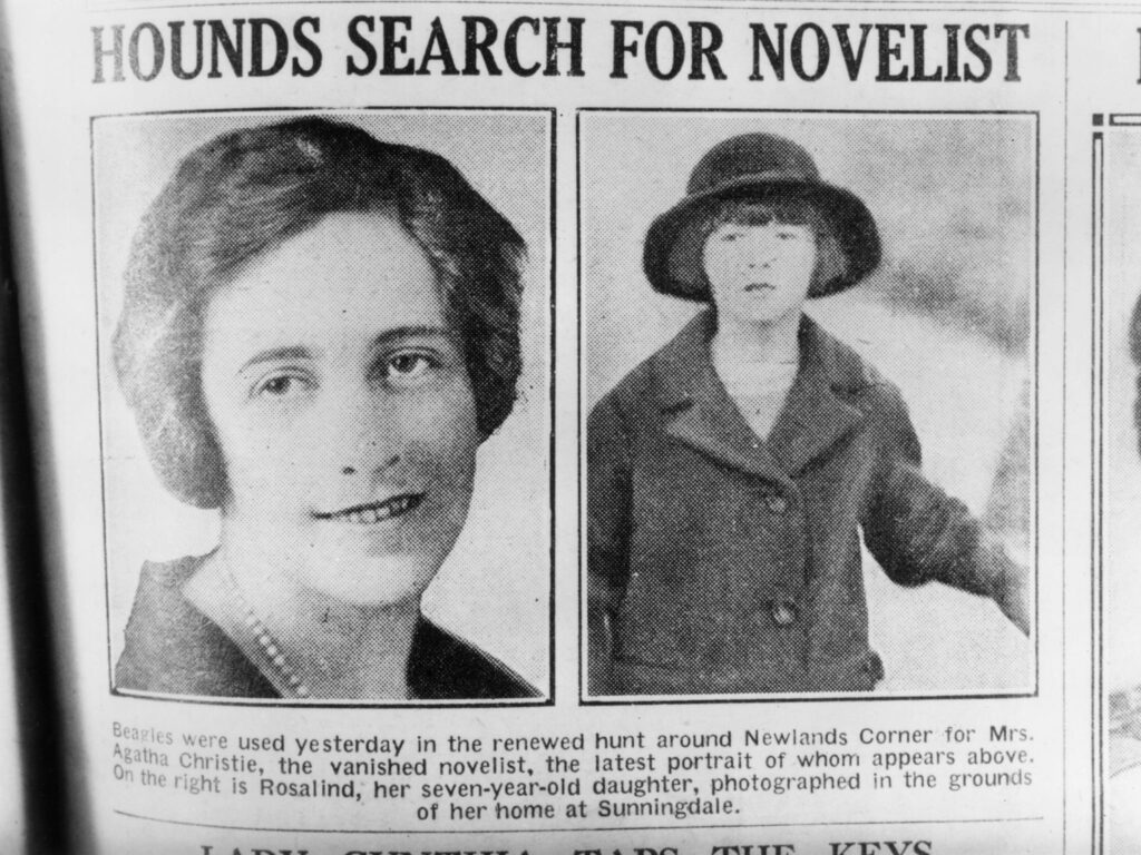 The Mysterious Agatha Christie Disappearance