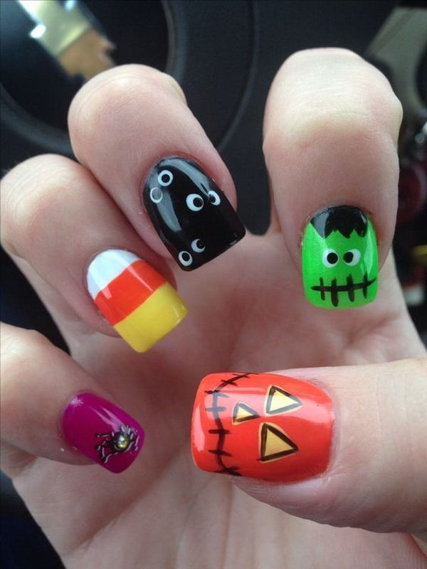 best nail art for halloween