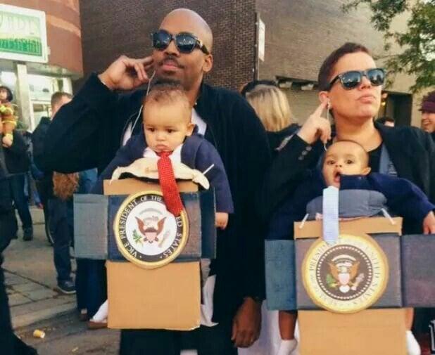 Halloween Families Costumes