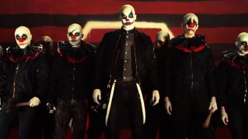 The clown cult members
