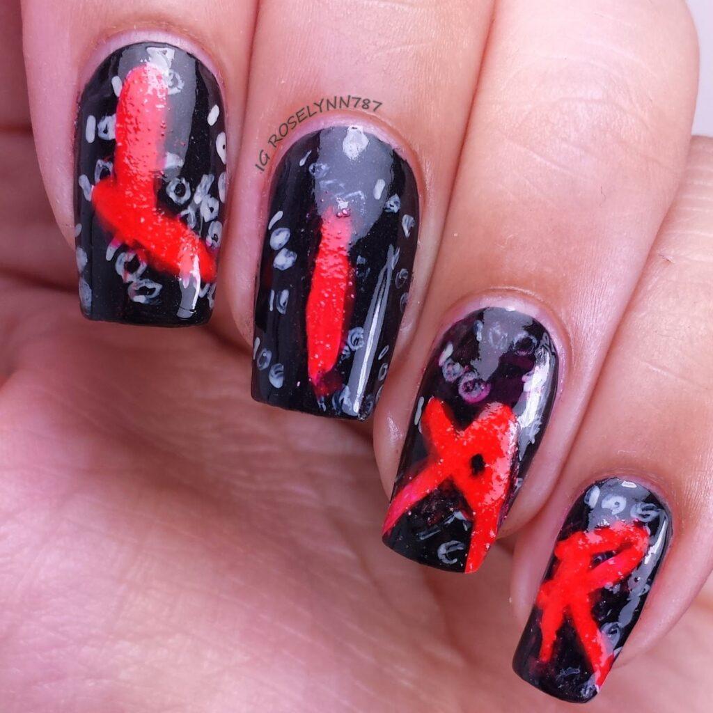 halloween nail art 2017