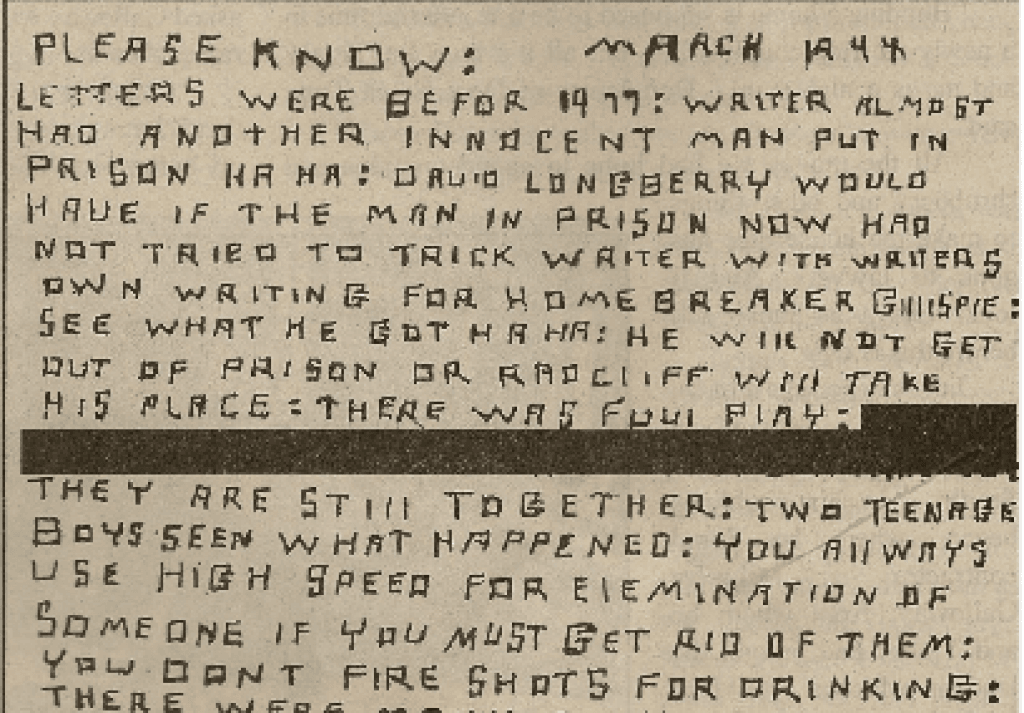 The Sinister Mystery of the Circleville Letter Writer