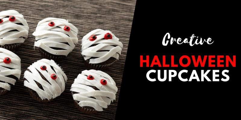 Creative Halloween Cupcakes