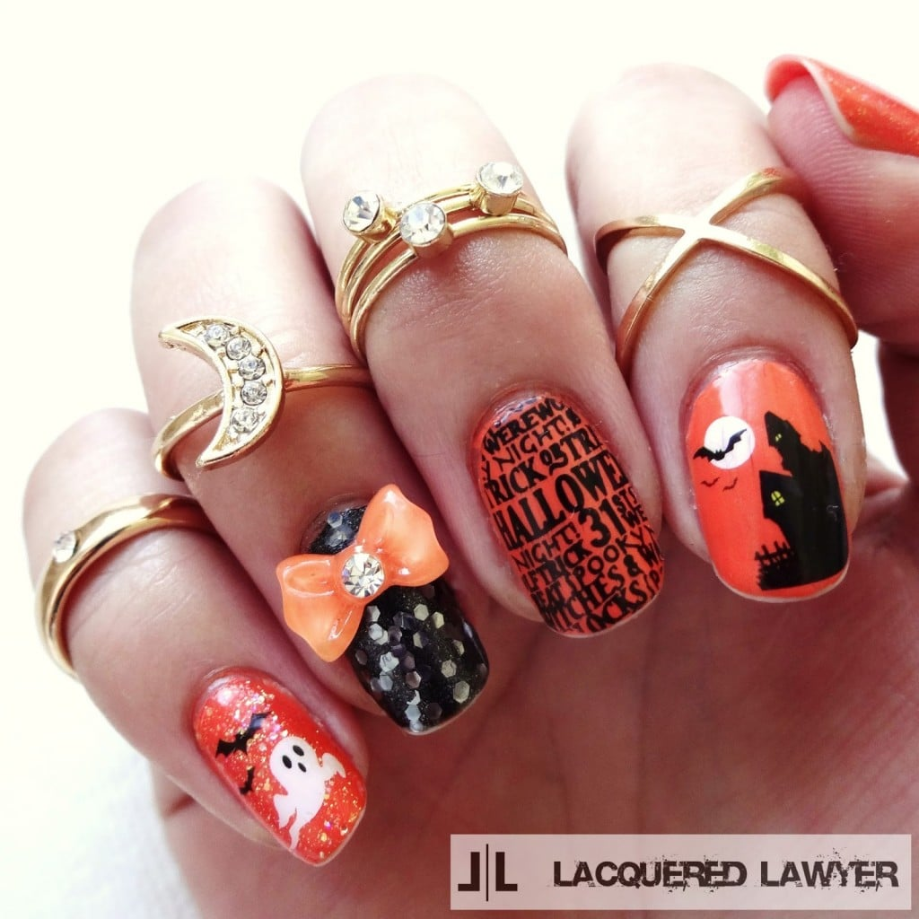 30+ Creative DIY Halloween Nail Art Designs That Are Easy