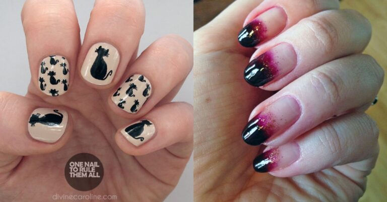 100+ Halloween Nail Art Designs That Are Easy To Follow